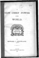 A new chief power in the world