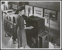 ENIAC printer, the constant transmitter, and associated IBM equipment