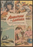 Adventure in leather from the beginning of time : in caves, out west, underwater, at home