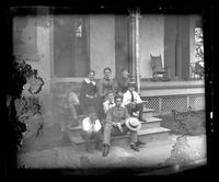 3500 Powelton Ave., group of children on the porch
