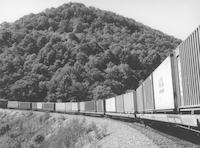 Horseshoe Curve west of Altoona, Pennsylvania