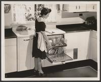 Betty Culley in a 'It Happened in the Kitchen' film still