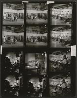 'The Velvet Curtain' film stills (contact sheet)