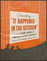 'It Happened in the Kitchen' pamphlet