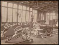 Cannons and weapons from Russia