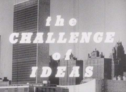 The challenge of ideas