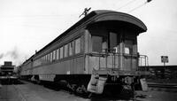 Pennsylvania Railroad, open end wooden coach