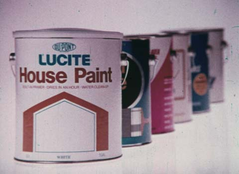 Lucite House Paint: Test 5