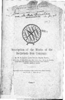 Description of the works of the Bethlehem Iron Company