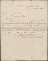 Charles I. du Pont to Pierre A. Gentieu, November 15, 1892