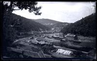 Mauch Chunk, view of the Lehigh Valley Railroad station