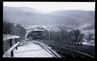 Mauch Chunk Switchback Railway, looking down Mt. Pisgah