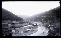 Mauch Chunk, Lehigh Valley Railroad station and down river
