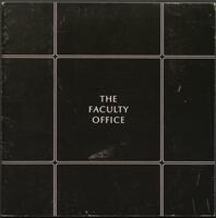 The Faculty Office: A System of Furniture and Structure