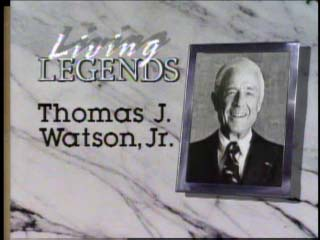 Living Legends: Tom Watson, Jr.