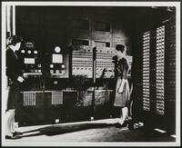 Program setting arrangement, ENIAC