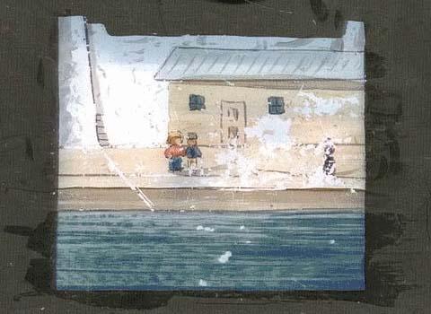Port scene (animated)