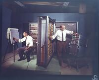 Installation of Univac Solid State Computer: Ilion Computer School