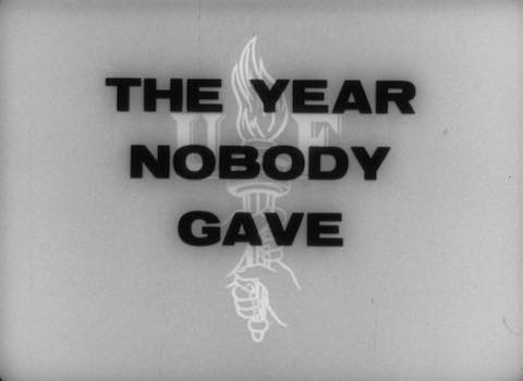 The Year Nobody Gave