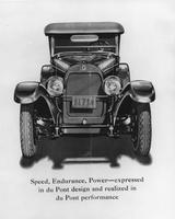 Du Pont Model D advertisement