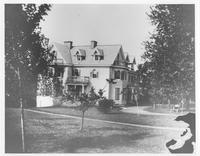 Hagley (Jacob Broom) House, Francis G. du Pont's home (side exterior view)