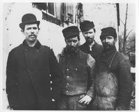 Group of four employees at E.I. du Pont de Nemours & Company powder yards