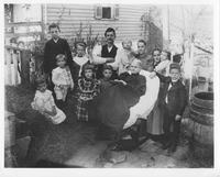 Albert Buchanan family and Gordon family