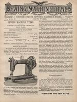 Sewing Machine Times [October 25, 1892]