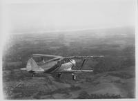 Waco Cabin Airplane, flying