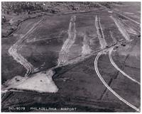 Philadelphia Municipal Airport, Filling Operation, looking northeast