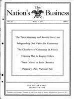 Nation's Business [August 1915]