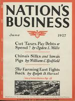 Nation's Business [June 1927]