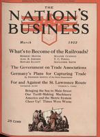 Nation's Business [March 1922]