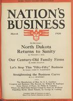 Nation's Business [March 1926]
