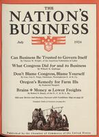Nation's Business [July 1924]