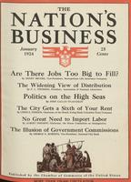 Nation's Business [January 1924]