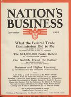 Nation's Business [November 1925]