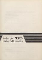 Nation's Business [Index for 1965]