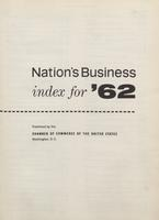 Nation's Business [Index for 1962]