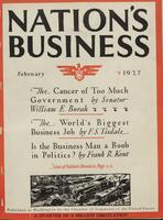 Nation's Business [February 1927]