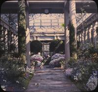 Conservatory at Longwood, estate of Mr. and Mrs. Pierre S. du Pont