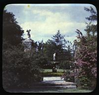 Garden gateway at Gibraltar, estate of H. Rodney Sharp