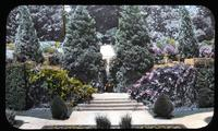 Steps to Upper Gardens at Longwood, estate of Mr. and Mrs. Pierre S. du Pont