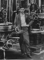 W.J. Beswick, foreman of tool room