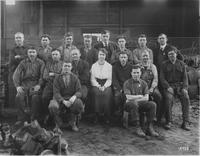 Employees of the Brass Division of the foundry