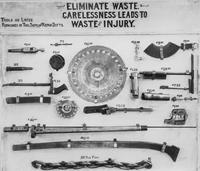 Waste elimination board for Tool Department