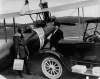 Curtiss Oriole used in delivery of bibles by the American Bible Society California