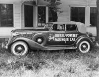 First diesel powered passenger car