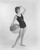 Donna Axum, Miss America 1964, in Ban-Lon swimsuit by Sirena