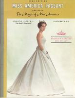 Official Yearbook of the Miss America Pageant, 1962